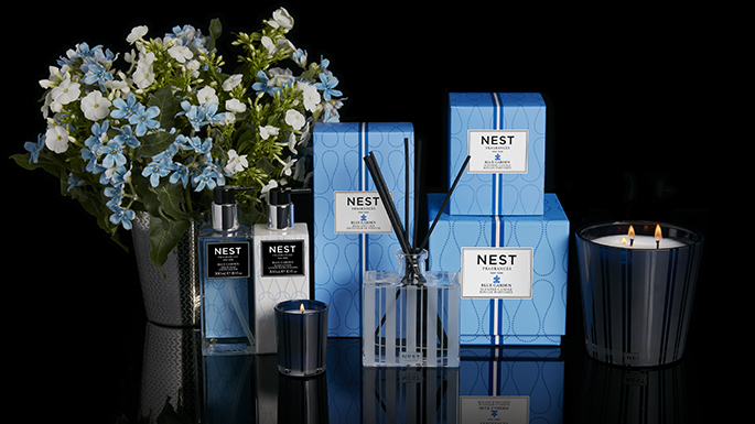 Nest Blue Garden Home Fragrance Collection for Autism Speaks