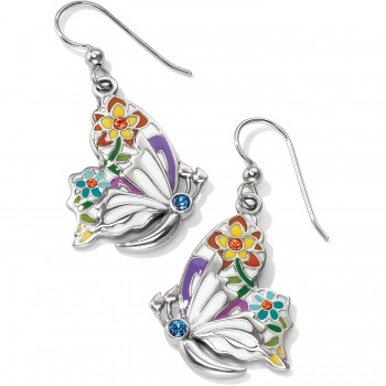 belle jardin butterfly french wore earrings