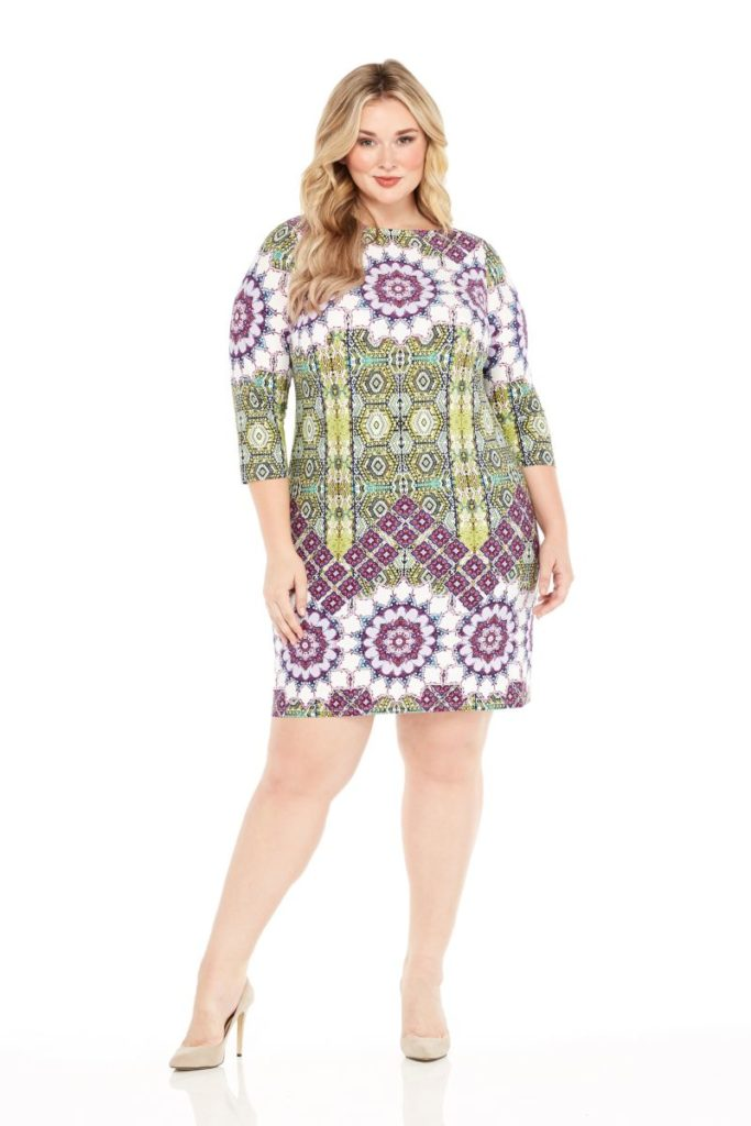 plus size shift dress from london times