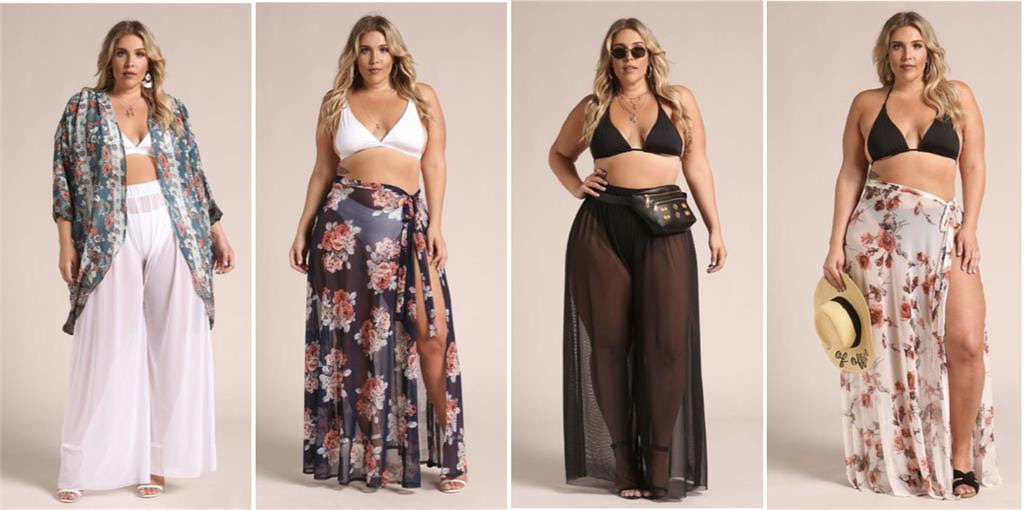 Debshios plus size sarongs and cover ups