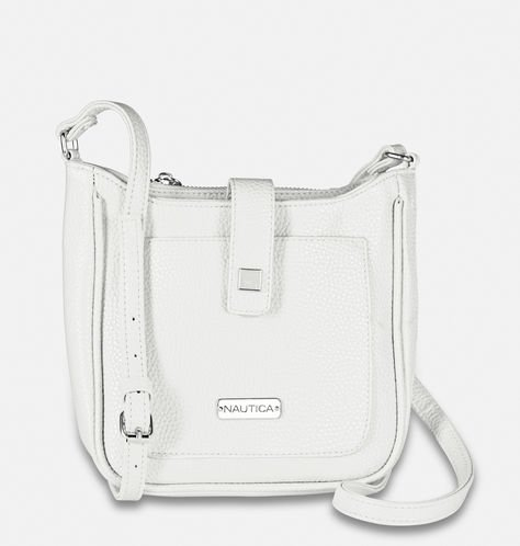 white mini crossbody bag
