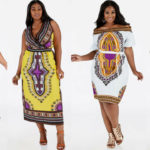 8 Plus Size Dashiki Print Dresses & Tops