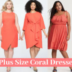 8 Plus Size Coral Dresses for Summer