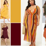 Plus Size Earth Tone Dresses For Fall