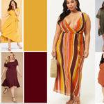 Plus Size Earth Tone Dresses For Fall