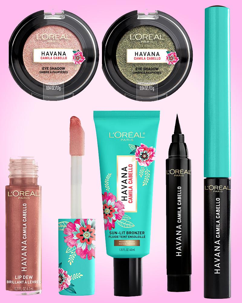 Havana Live Camila Cabello: Camila Cabello Launches Havana Makeup Collection With L