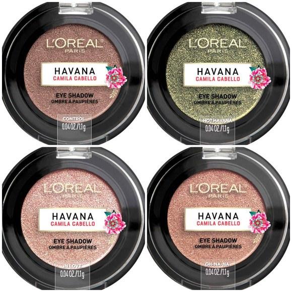 camila cabello havana makeup collection