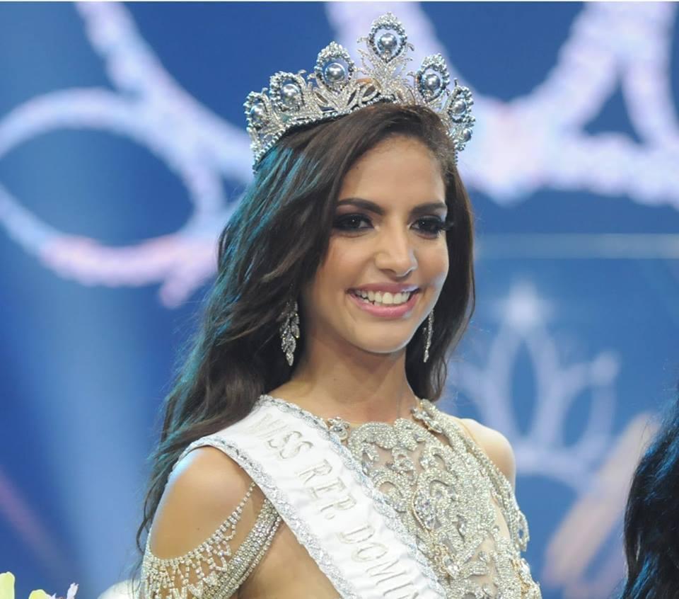 Aldy Bernard Bonilla, nueva Miss RD Universo 2018