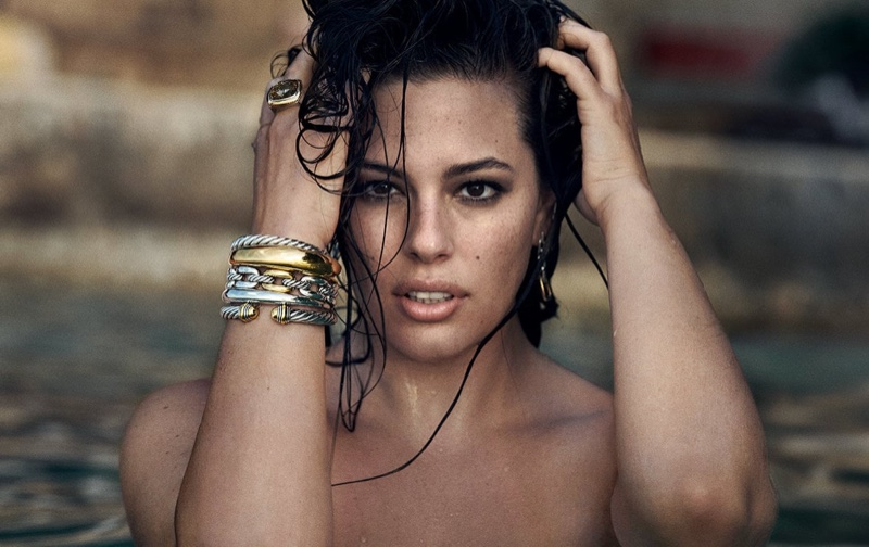 Ashley Graham Stars In David Yurman Fall/Winter 2018 Campaign. Photo by Peter Lindbergh