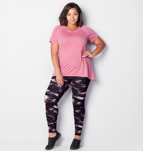 Pink and Black Activewear Set