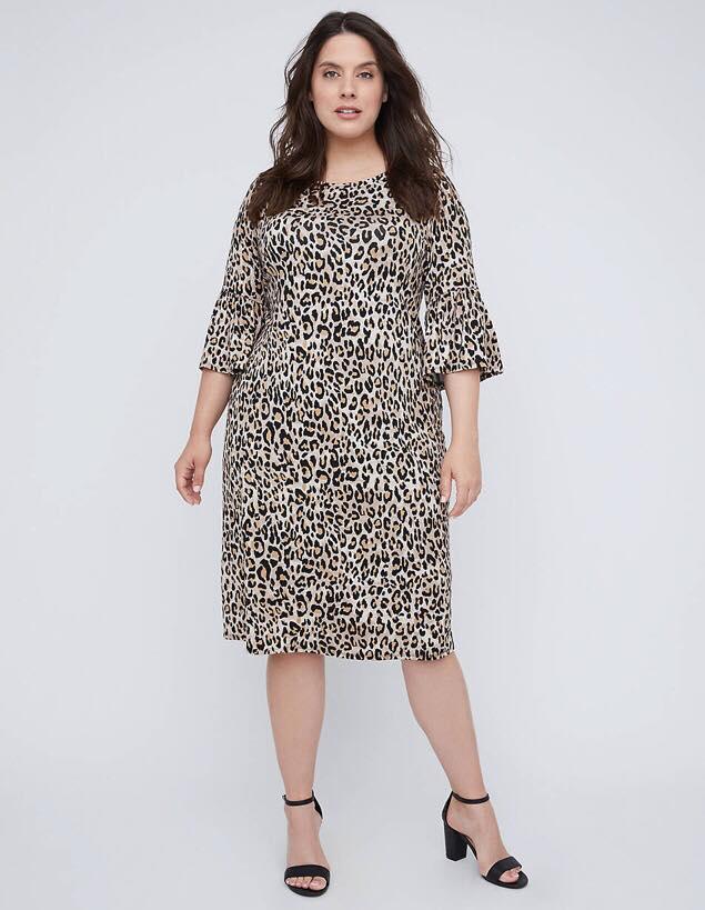 easy print shift dress