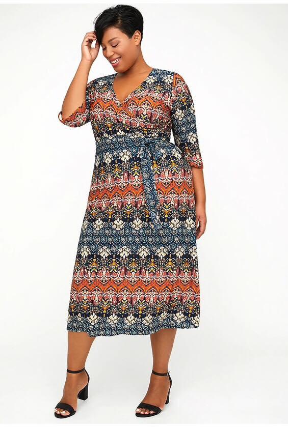 Fairmount park wrap dress