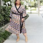 Look #22 of 2018: Plus Size Kimono Dress