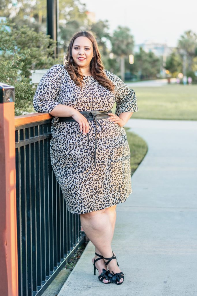 Easy Print Shift Dress from Catherines