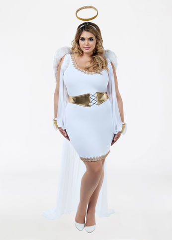 Plus Size Angel Halloween Costume