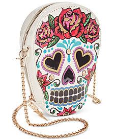 Sugar Skull Crossbody Bag by Betsey Johnson