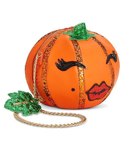 pumpkin crossbody bag by betsey johnson