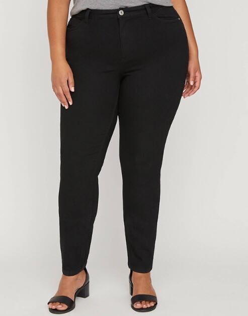 Black Plus Size Jeggings