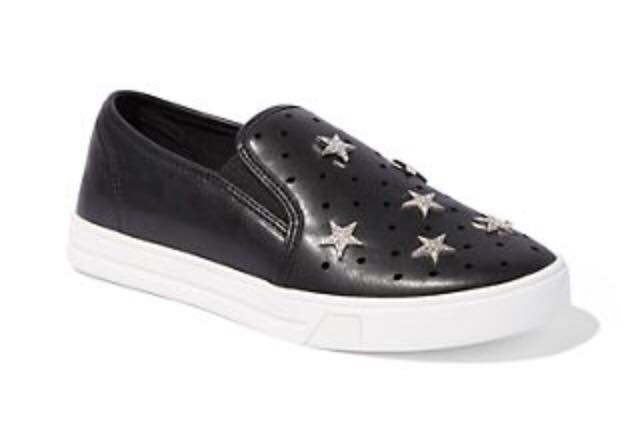 Star Accent Perforated Sneakers