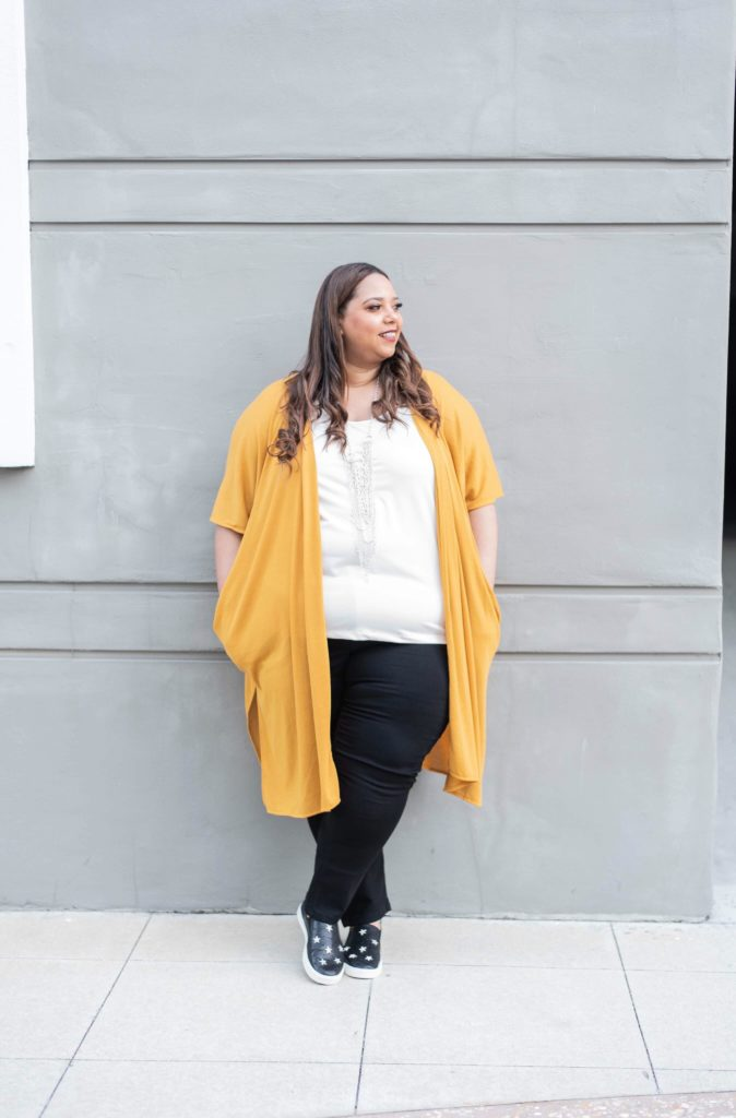 Plus Size Fashion Blogger Farrah Estrella from Tampa