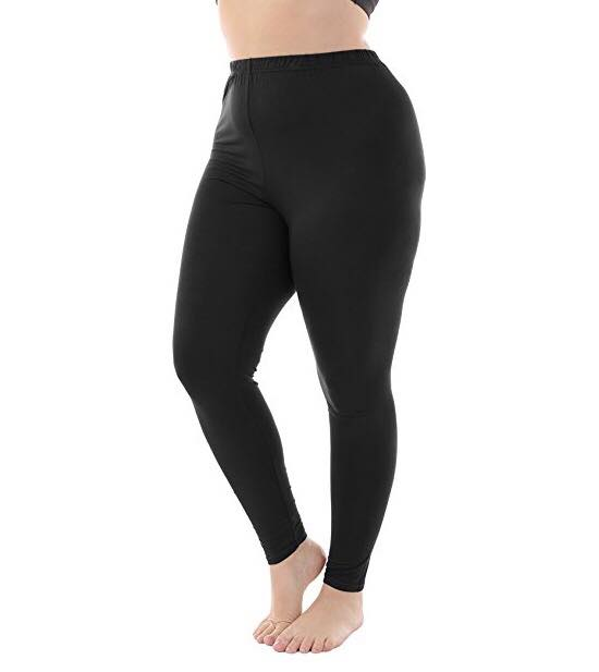 Black Plus Size Leggings