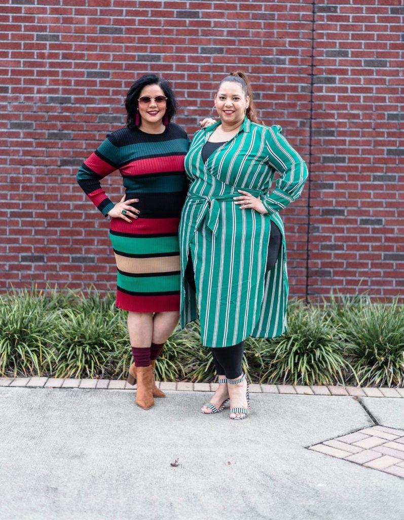 Plus Size Blogger Nadia Pena and Farrah Estrella
