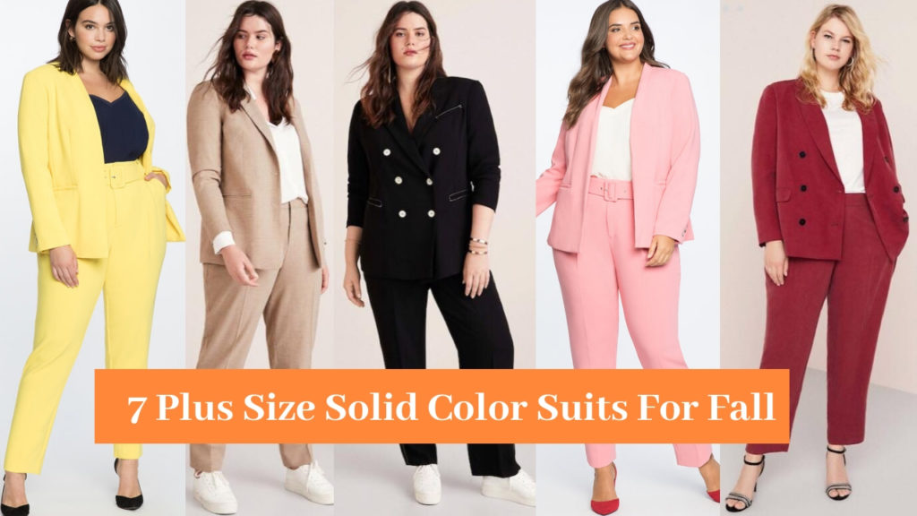 7 Plus Size Suits For Fall