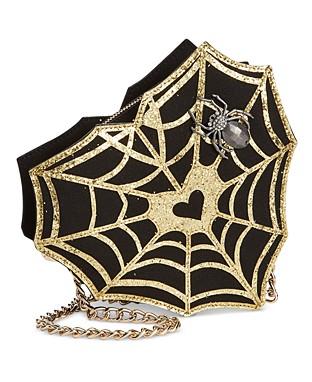 spider web crossbody bag