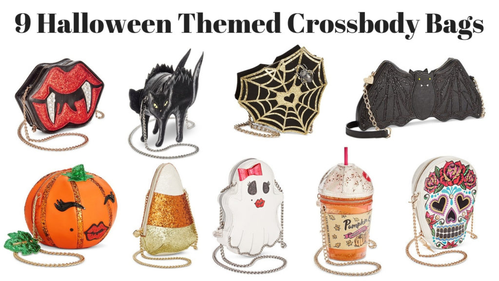9 Halloween Themed Crossbody Bags by betsey johnson