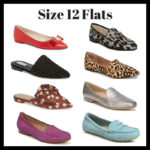 8 Size 12 Flats For Fall
