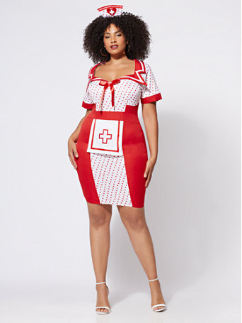 Plus Size Nurse Costume