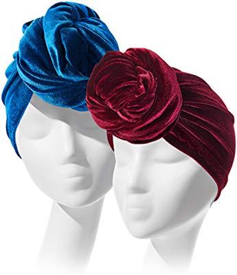 The Regal Wrap Velvet Headwrap