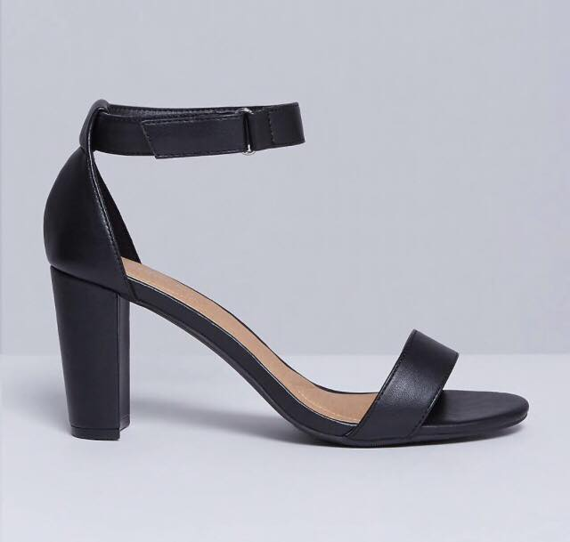 Tall Ankle Strap Heel