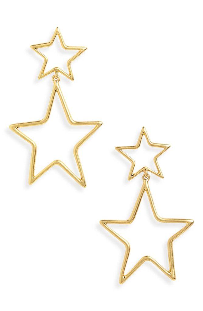 Night Star Statement Earrings