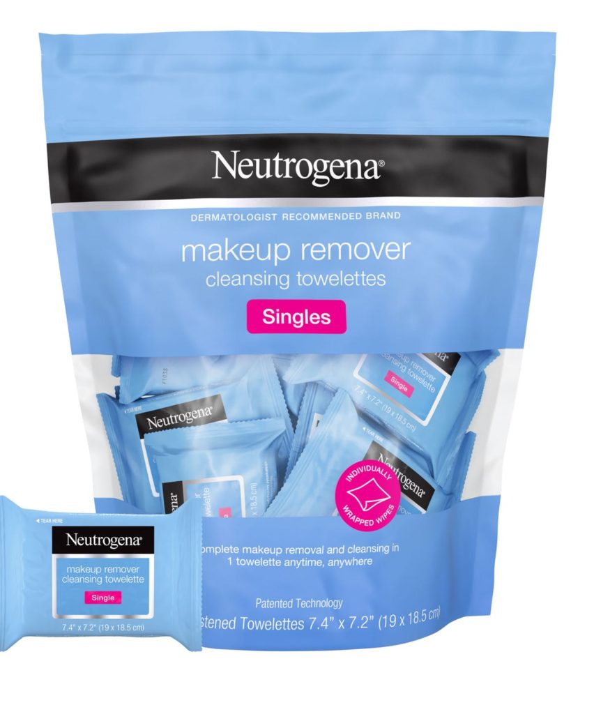 Neutrogena Makeup Remover Cleansing Towelettes Singles