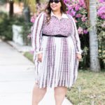Look #26 of 2018: Mixed Print Dress From The Girl With Curves X Lane Bryant Collection