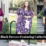 Pink & Black Dresses Featuring Catherines