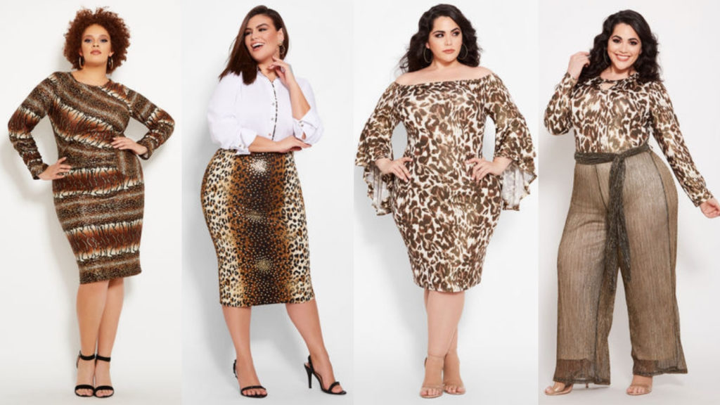 Plus Size Animal Print Clothing from Ashley Stewart