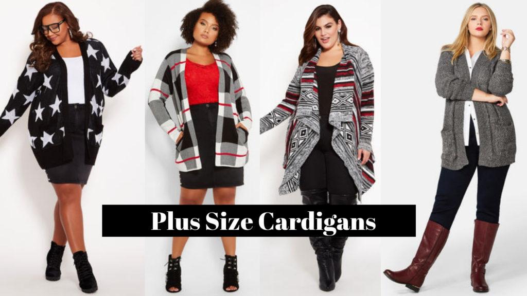 Plus Size Cardigans