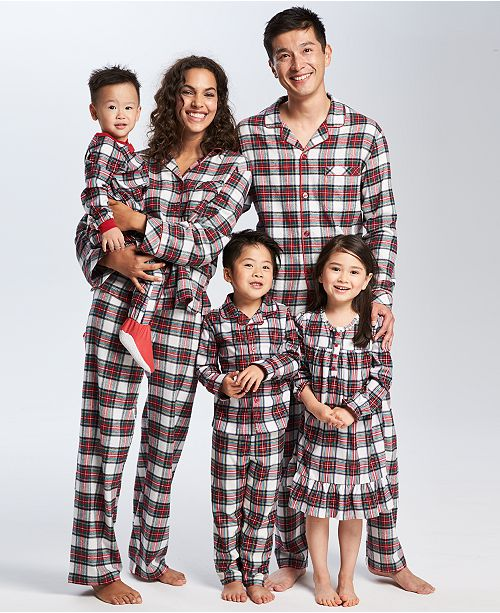 Brinkley Plaid Family Pajama Set