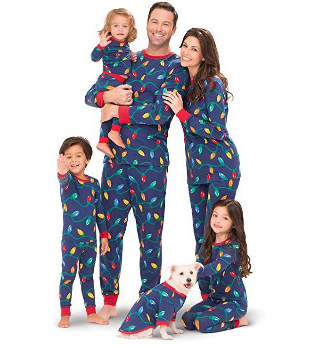 PajamaGram Matching Christmas Pajamas for family