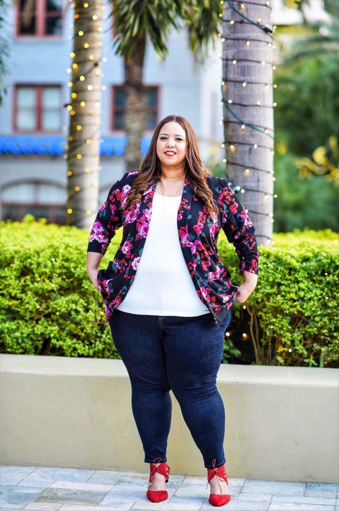 Plus Size Influencer Farrah Estrella