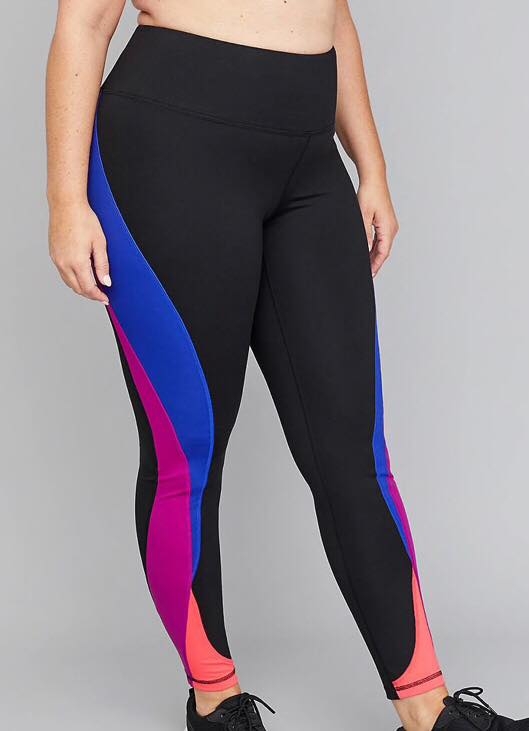 LIVI Active Leggings SculptLight Active 7/8 Legging - Colorblock Splicing