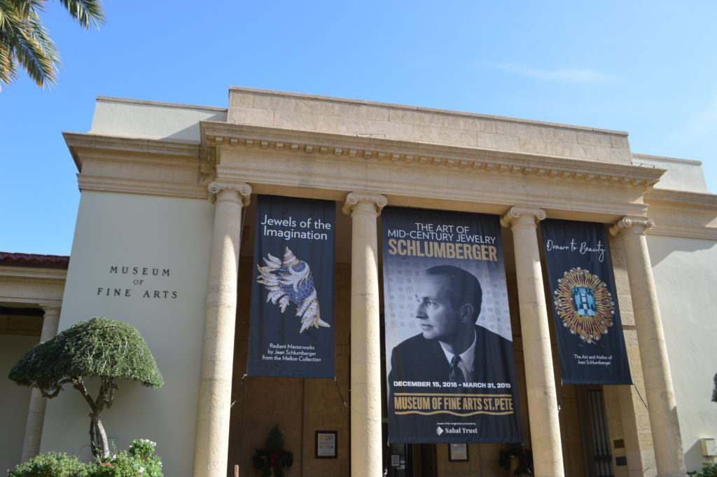 The Museum of Fine Arts in St Petersburg, Florida