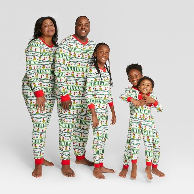 Holiday Dr. Seuss The Grinch Family Pajamas