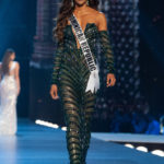 Miss Dominican Republic Aldy Bernard Wears Giannina Azar To The Miss Universe 2018 Preliminary Competition