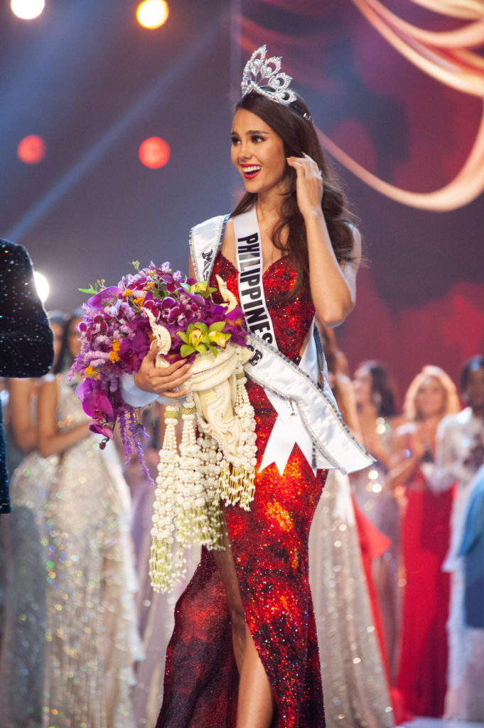 Catriona Gray, Miss Philippines 2018 is crowned Miss Universe 2018
