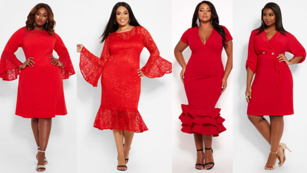 Red Plus Size Dresses Under $50