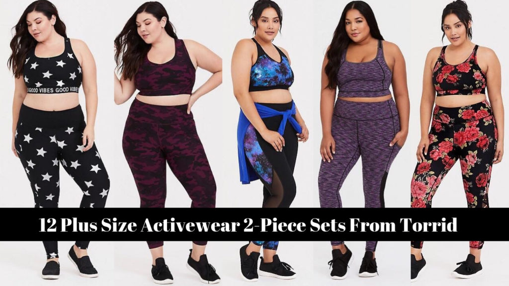 12 Plus Size Activewear 2-Piece Sets From Torrid