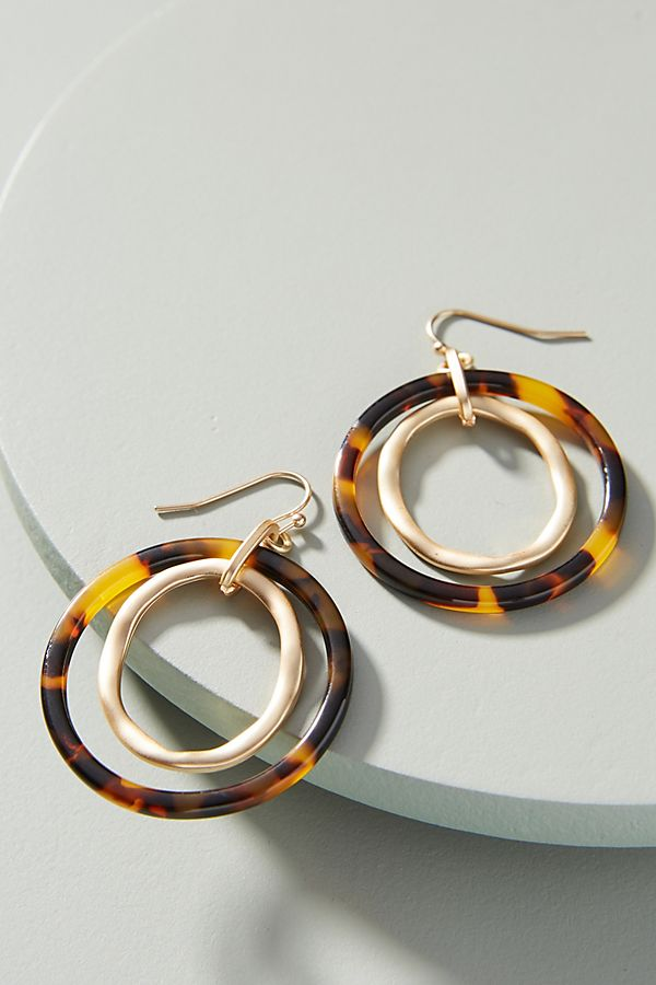 sasha hoop drop earrings